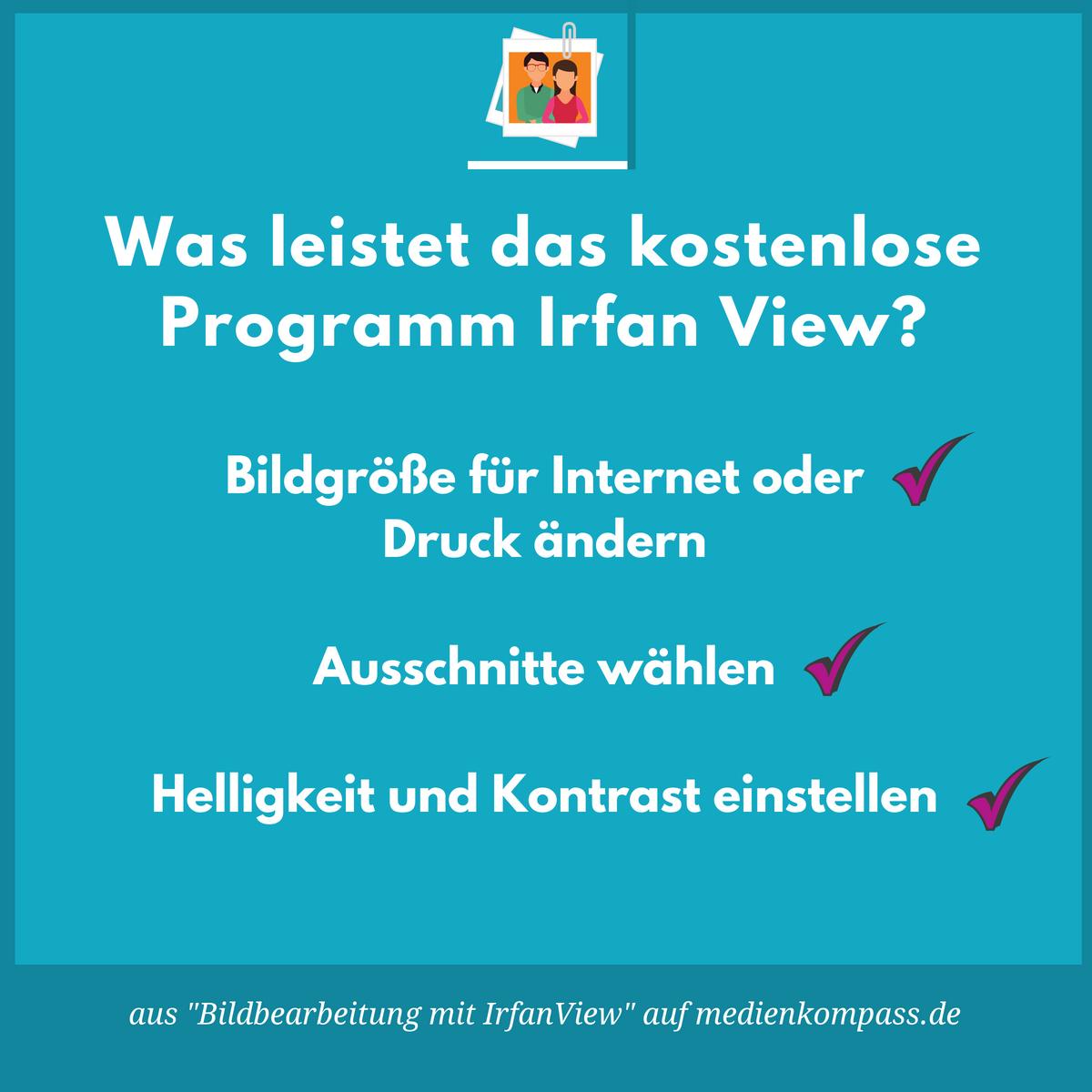 Bildbearbeitung mit IrfanView | medienkompass.de