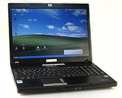 Laptop mit Schnittprogrammen im Geräteverleih in Stuttgart