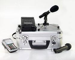 Mikrofon und Digitalrekorder im Geräteverleih in Stuttgart