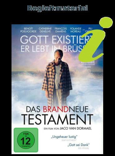 """Zur Ausleihe des Begleitmaterials zum Spielfilm """"Das brandneue Testament"""""""