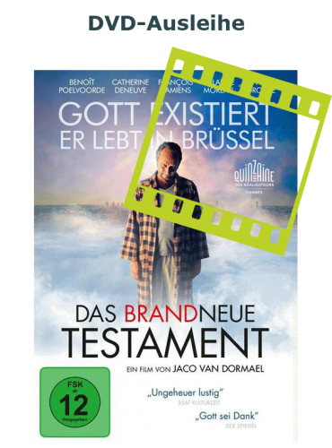"""Zur DVD-Ausleihe von """"Das brandneue Testament"""""""