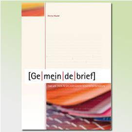 Gemeindebrief gestalten - Tipps im Buch von Dietmar Hauber