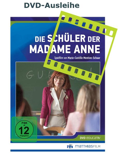 DVD-Ausleihe des Films Die Schüler der Madame Anne