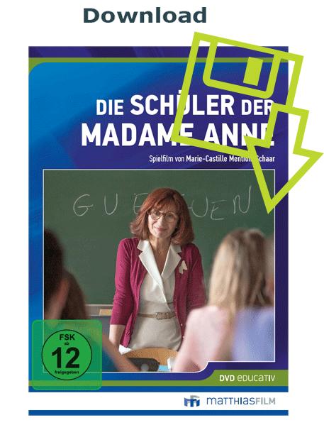Der Film Die Schüler der Madame Anne kann im Medienladen als Download legal heruntergeladen werden