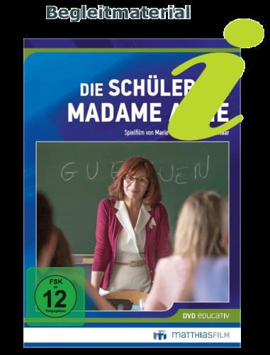 Als Begleitmaterial steht das Filmheft für Die Schüler der Madame Anne zur Verfügung