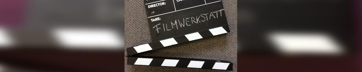 """Buchtitel """"Filmwerkstatt: So drehst du deinen eigenen Film mit Handy oder Digitalkamera"""" auf Filmklappe"""