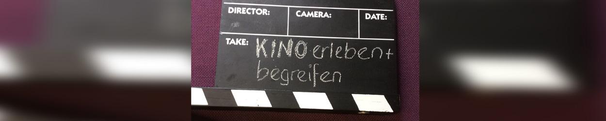 """Buchtitel """"Kino erleben und begreifen. Filmanalyse mit Kindern und Jugendlichen"""" auf Filmklappe"""