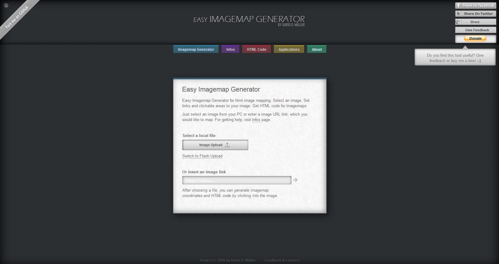 Anleitung: Mit dem Easy Imagemap Generator können Sie ein Bild mit mehreren Verlinkungen erstellen