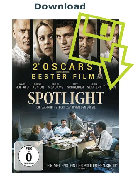 Der Film Spothlight steht als Download zur Verfügung und kann von Kunden des Ökumenischen Medienladens heruntergeladen werden