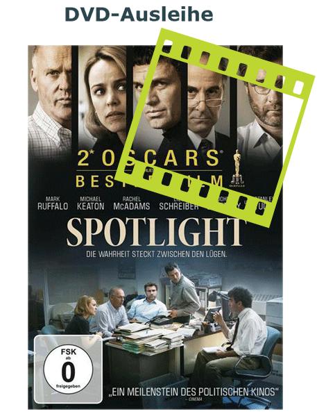 Der Film Spothlight kann als DVD ausgliehen werden - für Kunden des Ökumenischen Medienladens