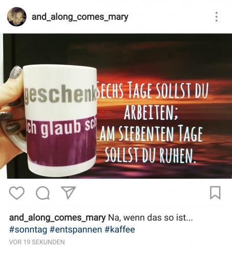 Instagram für Einsteiger: So sieht das fertig gepostete Bild bei Instagram aus