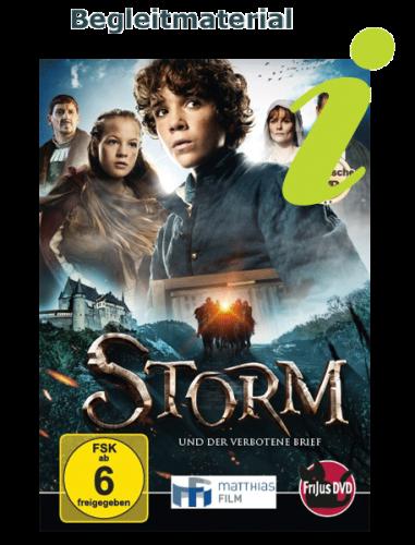Schulmaterial für den Film Storm und der verbotene Brief