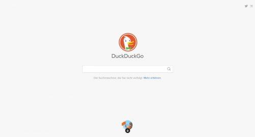 Alternative Suchmaschinen zu Google: Im Gegensatz zu Google setzte sich die Alternative DuckDuckGo kümmert sich um einen besseren Datenschutz