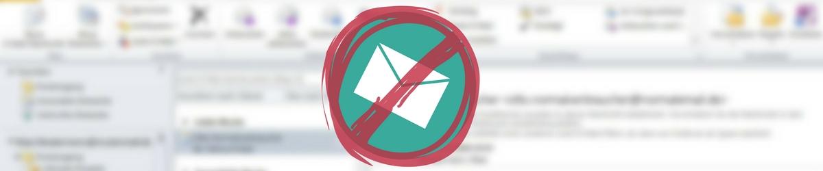 medienkompass-Tipp: Wenn E-Mails im Spam-Ordner von Outlook landen, helfen zwei Einstellungen zu den sicheren Absendern