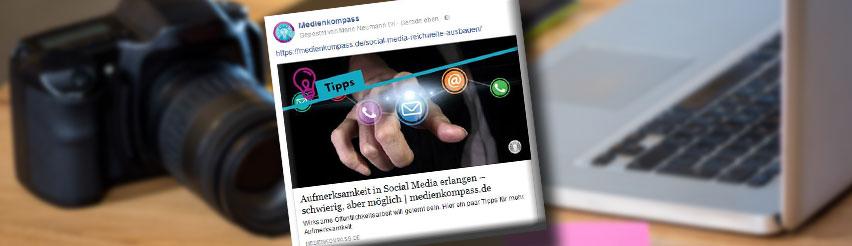 Facebook Link Vorschaubilder