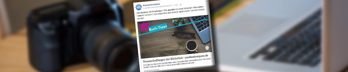 Blog für die Medienarbeit: Vorschaubilder für Facebook generieren