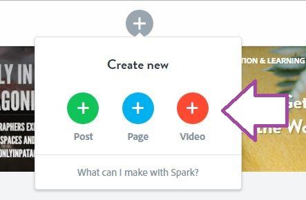 Mit Adobe Spark ein Video erstellen