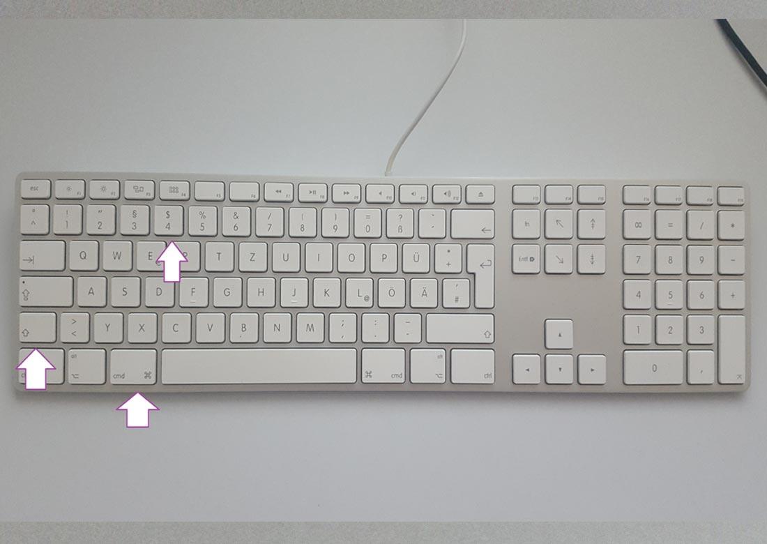Wie Mache Ich Einen Screenshot Mac