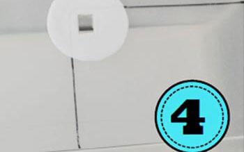 Durch das ausgeschnittene Loch in der Box fällt genügend Licht in die Trickfilmbox