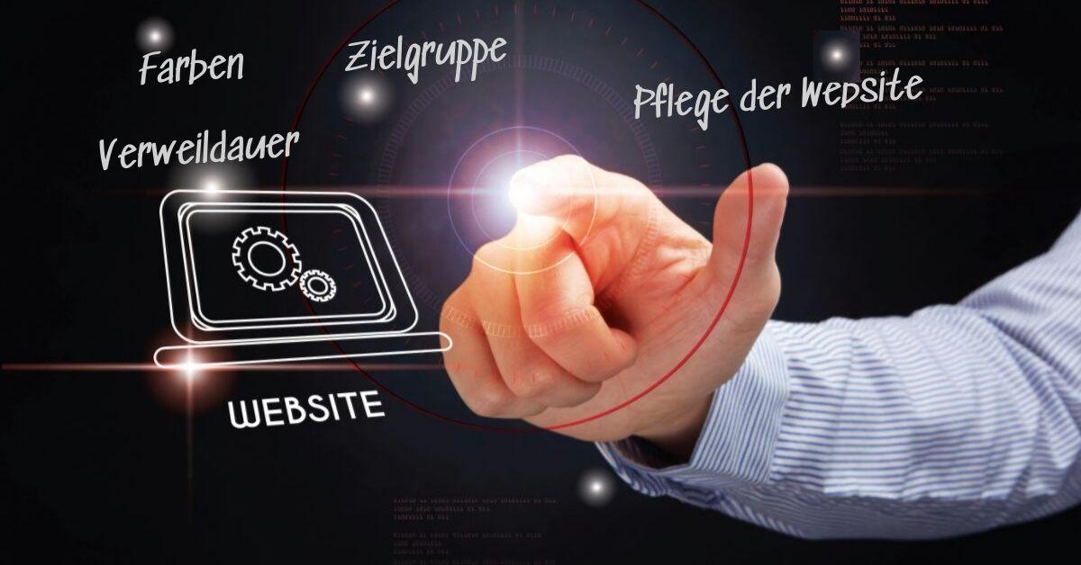 Was ist für eine optimale Website zu berücksichtigen?