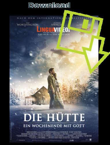 """Als Kunde können Sie im Dowloadbereich des Ökumenischen Medienladens den Spielfilm """"Die Hütte"""" auch herunterladen."""