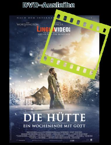 """Unter der Signatur DVS1009 können Sie sich den Spielfilm """"Die Hütte"""" ausleihen"""