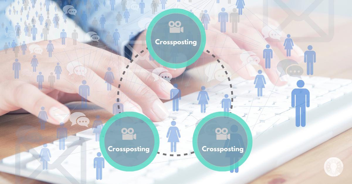 Anleitung für Crossposting bei Facebook: Crossposting-Beziehung aufbauen, Videos bereitstellen und teilen