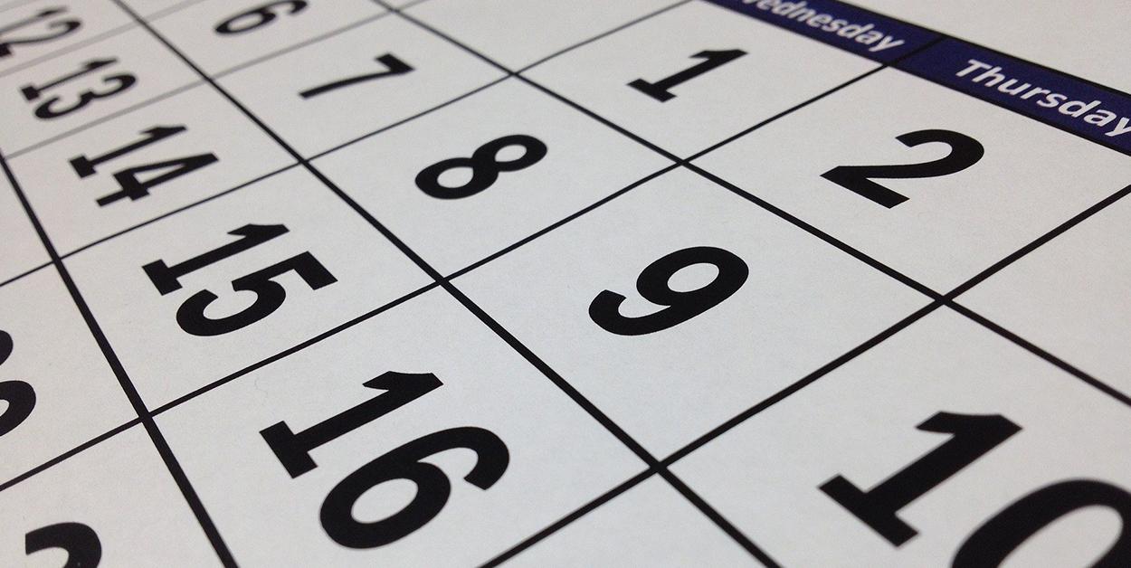 Facebook Posts planen - Kalender