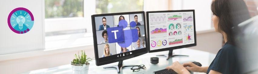 Videokonferenzen mit Teams