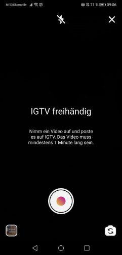 IGTV Aufnehmen App